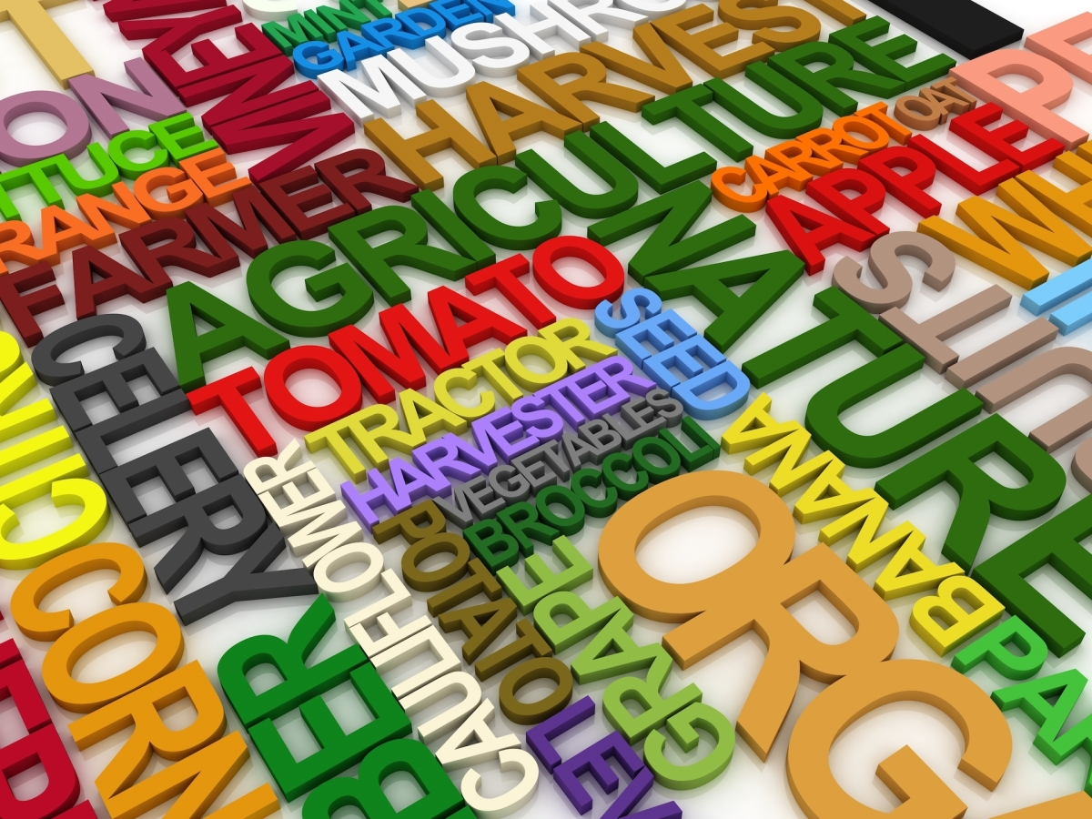 agriculture terminology