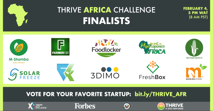 Thrive Africa - Agriculture and Food Processing
