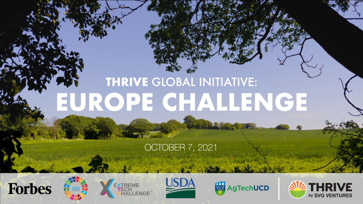 AgTech and FoodTech - Thrive Europe Challenge