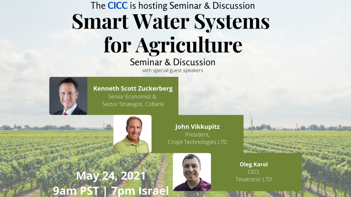 Smart Water Systems for Agriculture
