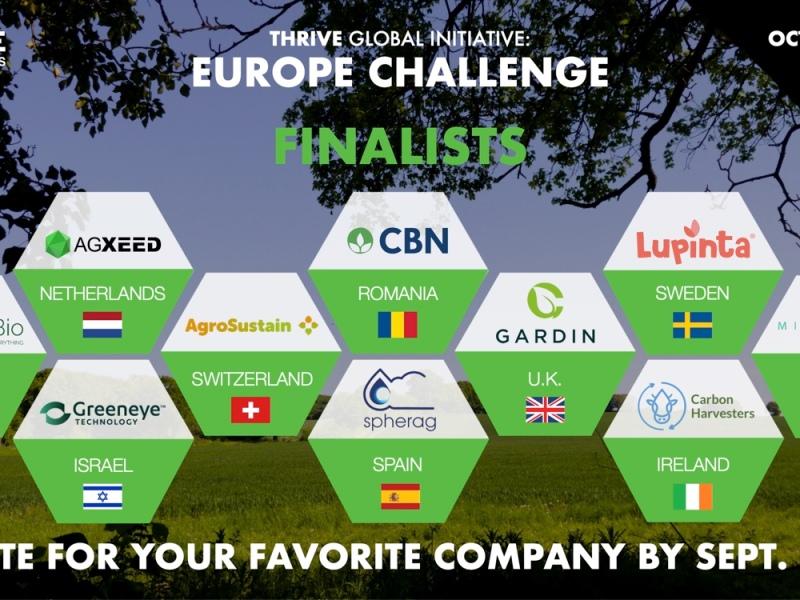 THRIVE Europe Challenge Finalists